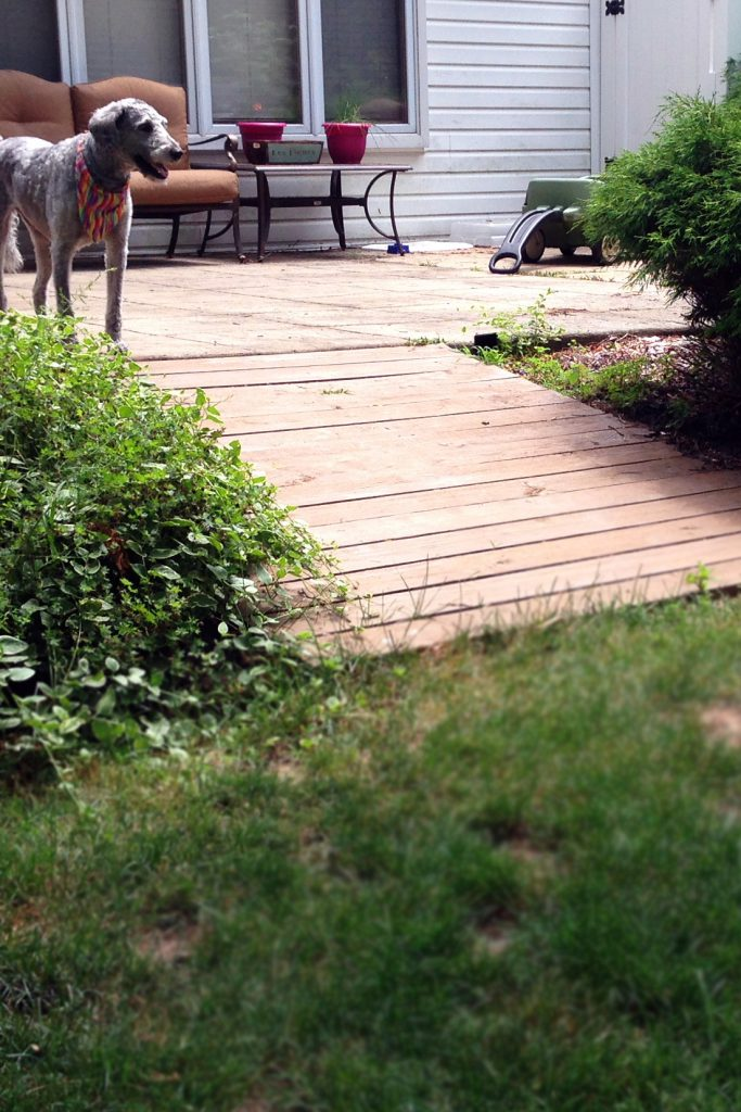 DIY Backyard Projects - Wooden Pathway Tutorial