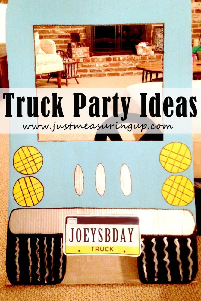DIY Truck Party Ideas