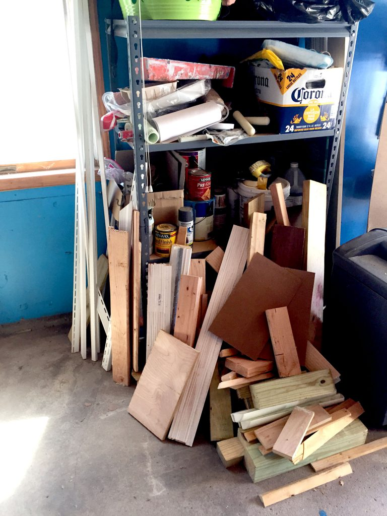 How to Build a Scrap Wood Storage Bin - Easy Garage Organization Tips