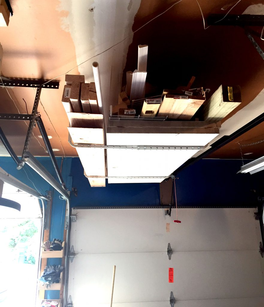 Utilizing Garage Ceiling Space for Additional Garage Storage