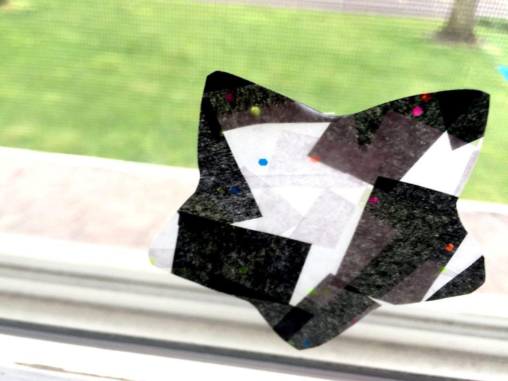 How to Make Tissue Paper Suncatchers - Easy Kids Craft