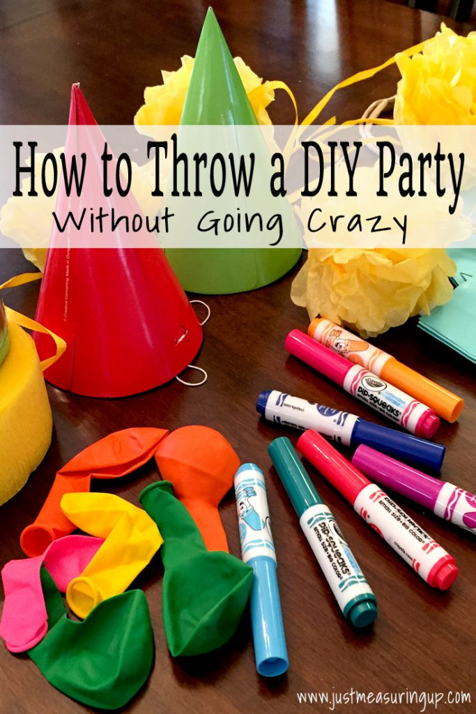 Throwing a DIY Party - Tips, Tricks, and Templates