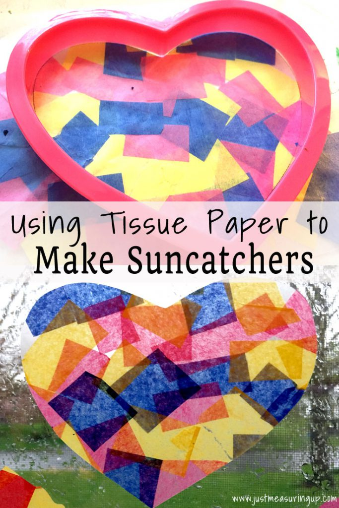 How to Make Tissue Paper Suncatchers - Fun Kids Craft