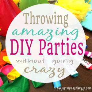 Tips for throwing stress-free DIY parties