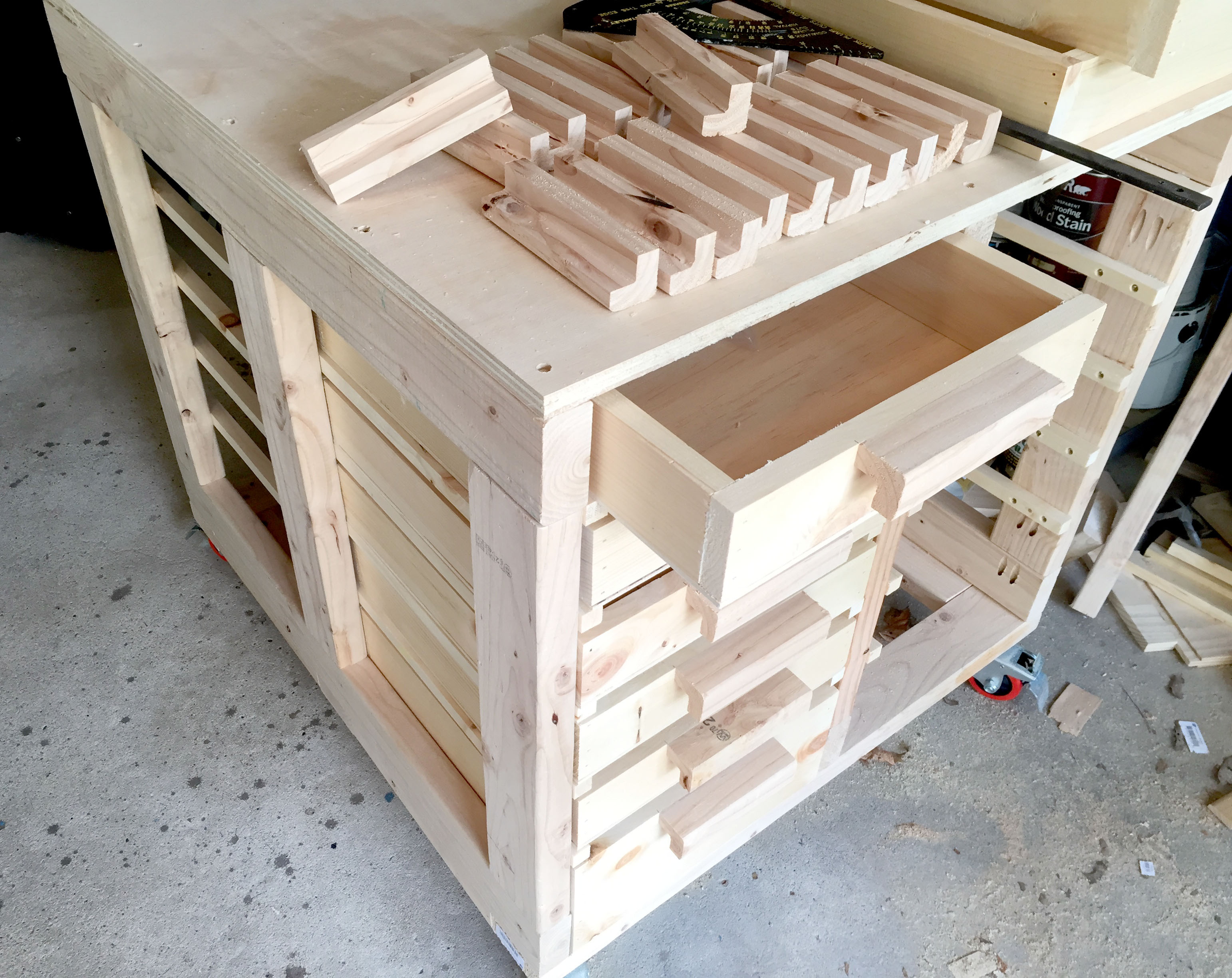 How to make diy drawers with homemade handles