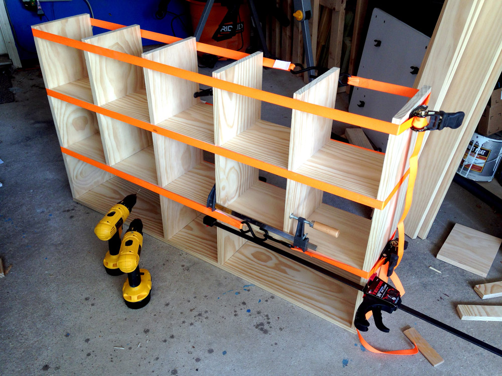 Using Ratchet Straps - Tips and Tricks for DIY Cubby Shelf Storage