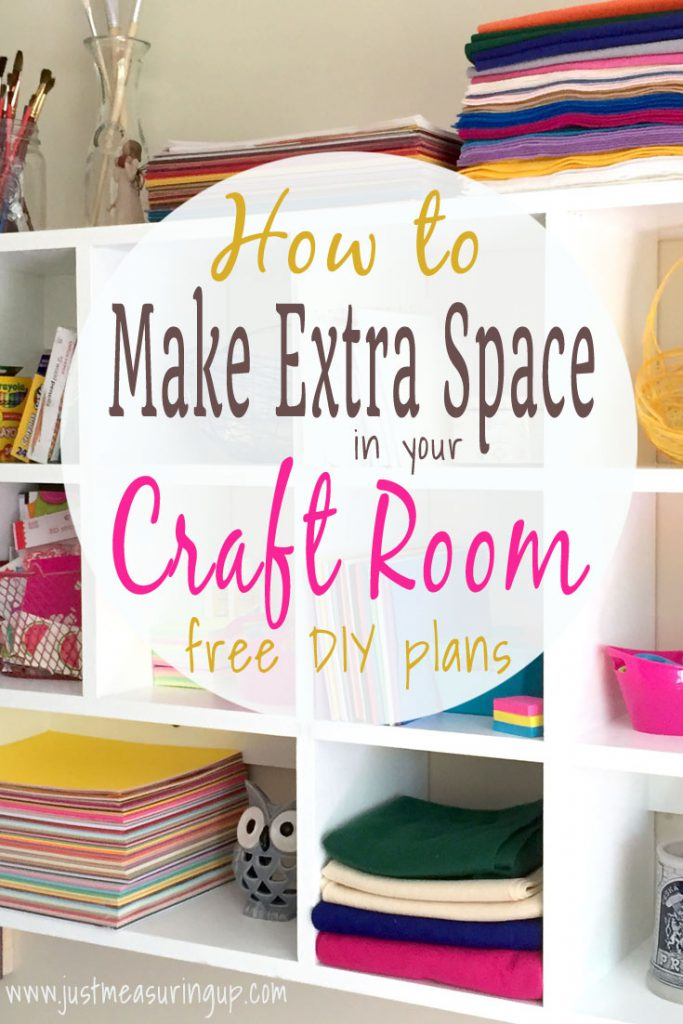 Making Extra Storage Space with Shelves, Cubbies and Pegboard
