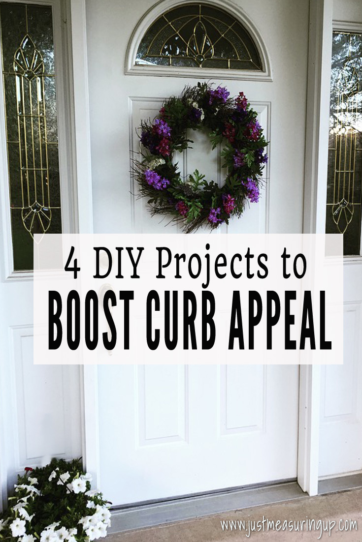 Boost your curb appeal with these 4 DIY projects