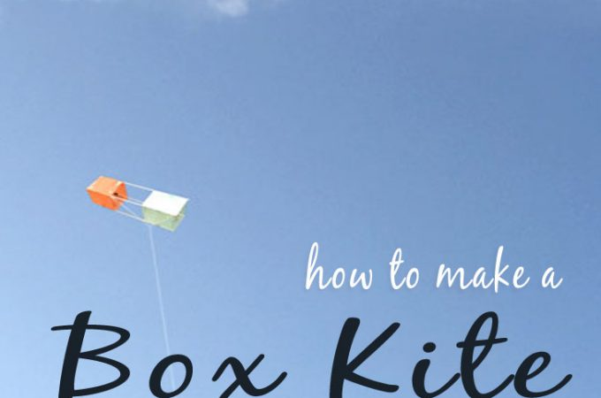 How to Make a Box Kite from Scratch