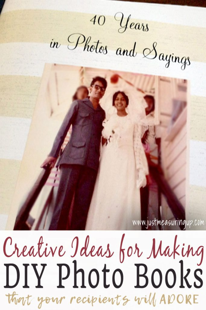Making DIY Photo Books - Great gift ideas