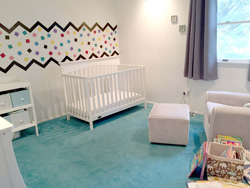 Toddler Room Makeover Reveal - Before