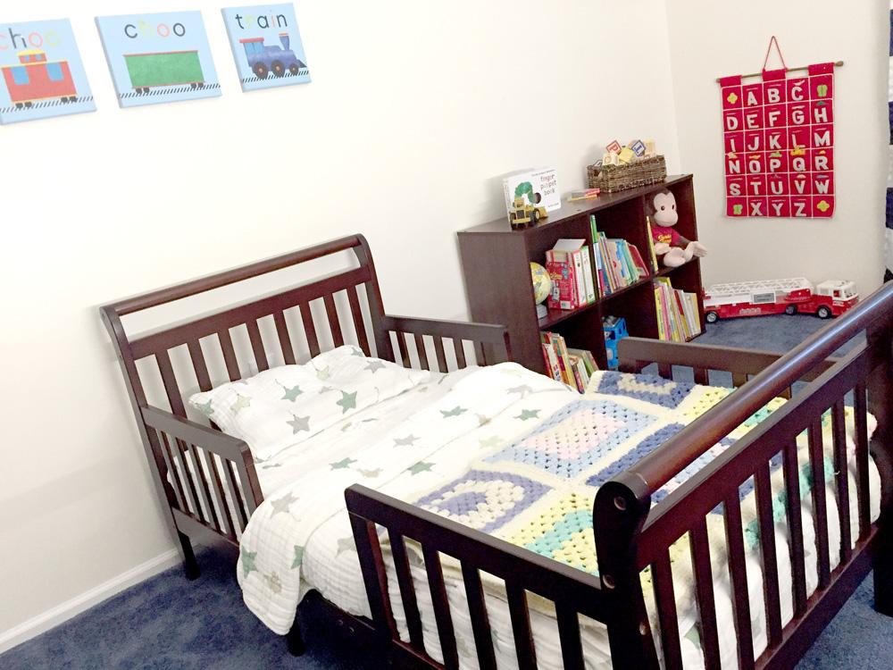 Toddler Room Makeover Reveal - After