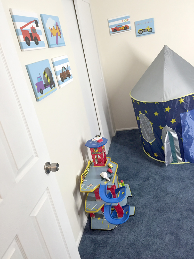 Toddler Room Makeover Reveal - After