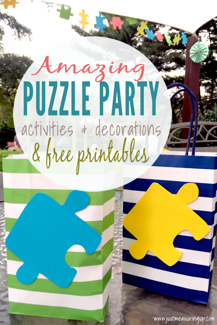 Games, activities, and ideas for throwing an amazing puzzle party