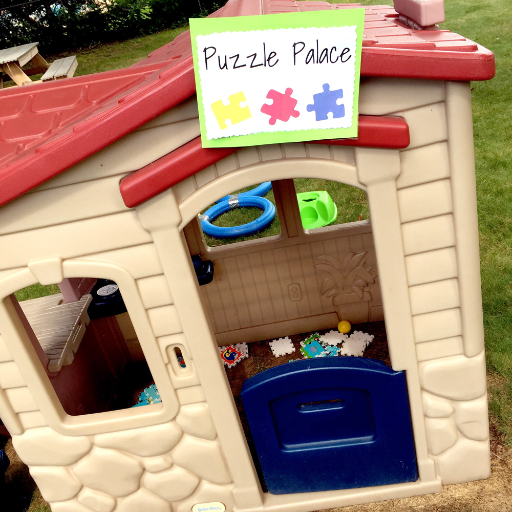 How to Throw an Amazing Puzzle Party with Easy Backyard Activities and Stations