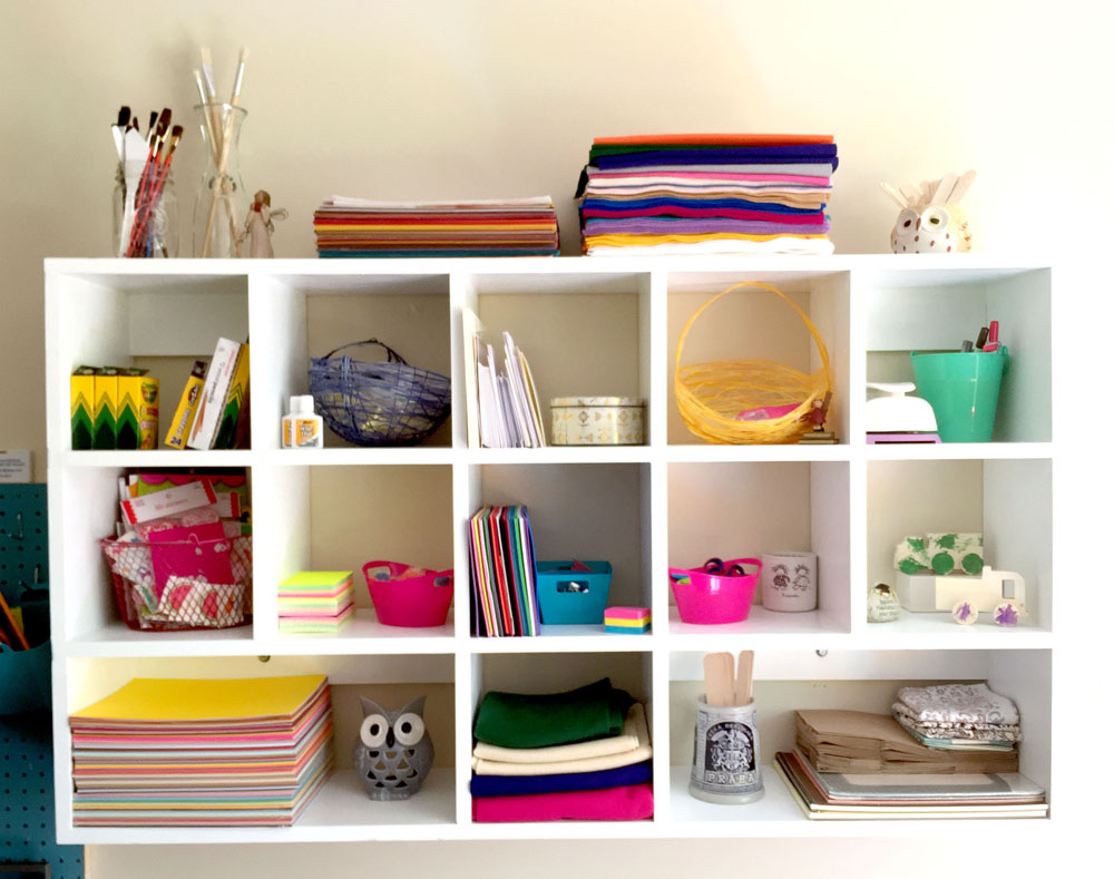 Using Cubby Shelves to Organize Your Home