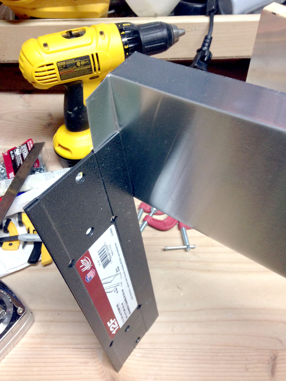 How to Bend Sheet Metal with a Folding Tool to Make a Robot