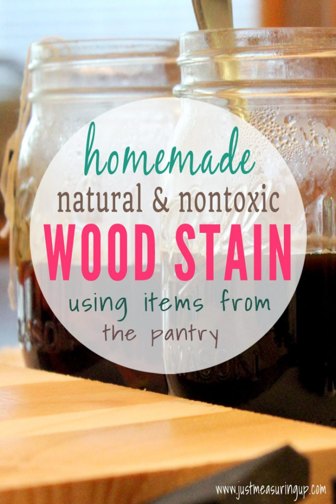 How to Make Your Own Chemical-Free DIY Wood Stain -Natural and Organic