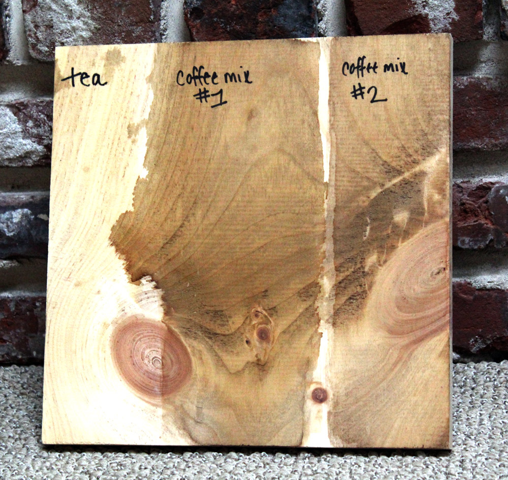 Making Wood Stain that's homemade, chemical-free, and natural