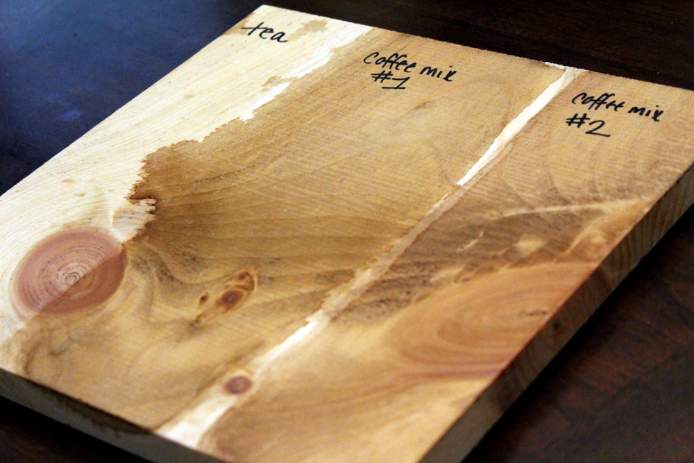 How to Make Chemical-Free Wood Stain for free!