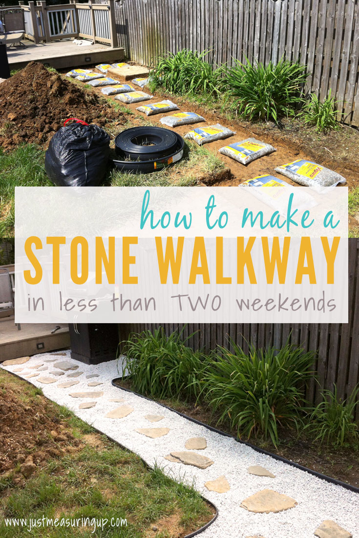 How Build a Stone Walkway in Your Yard