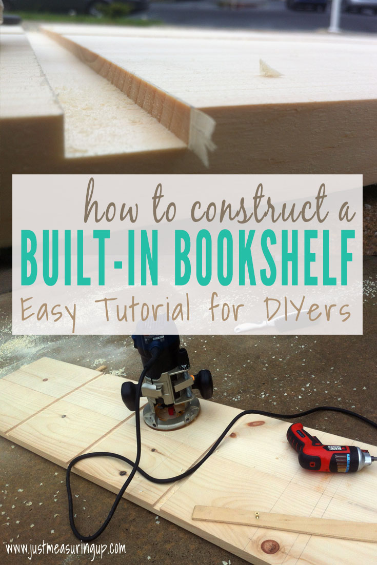 How to Make a Built-In Bookshelf
