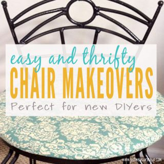 How to Transform Thrift Store Chairs