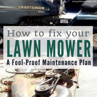How to Fix Up an Old Lawn Mower