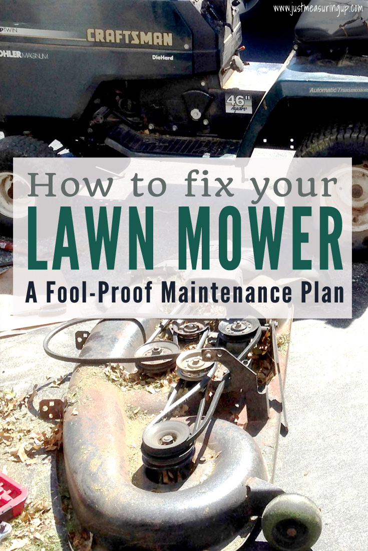 How to Fix Your Lawn Mower with an 8-Step Maintenance Plan