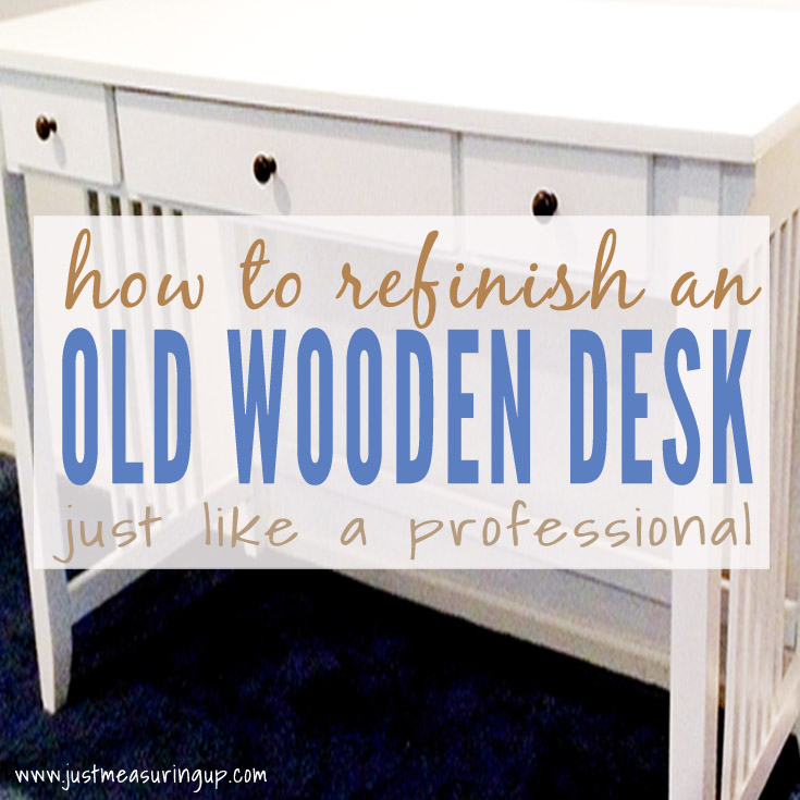 How To Paint A Desk Like Professional Easy Tutorial For Modern White