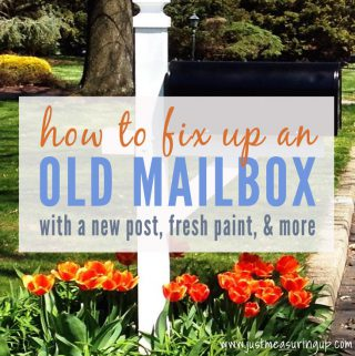 How to Beautifully Fix Up an Old Mailbox