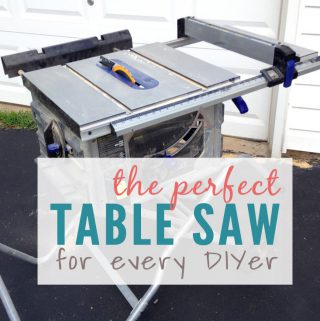 The Perfect Table Saw for DIYers