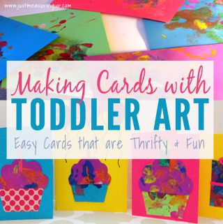 Making Cards with Toddlers that everyone will love receiving!