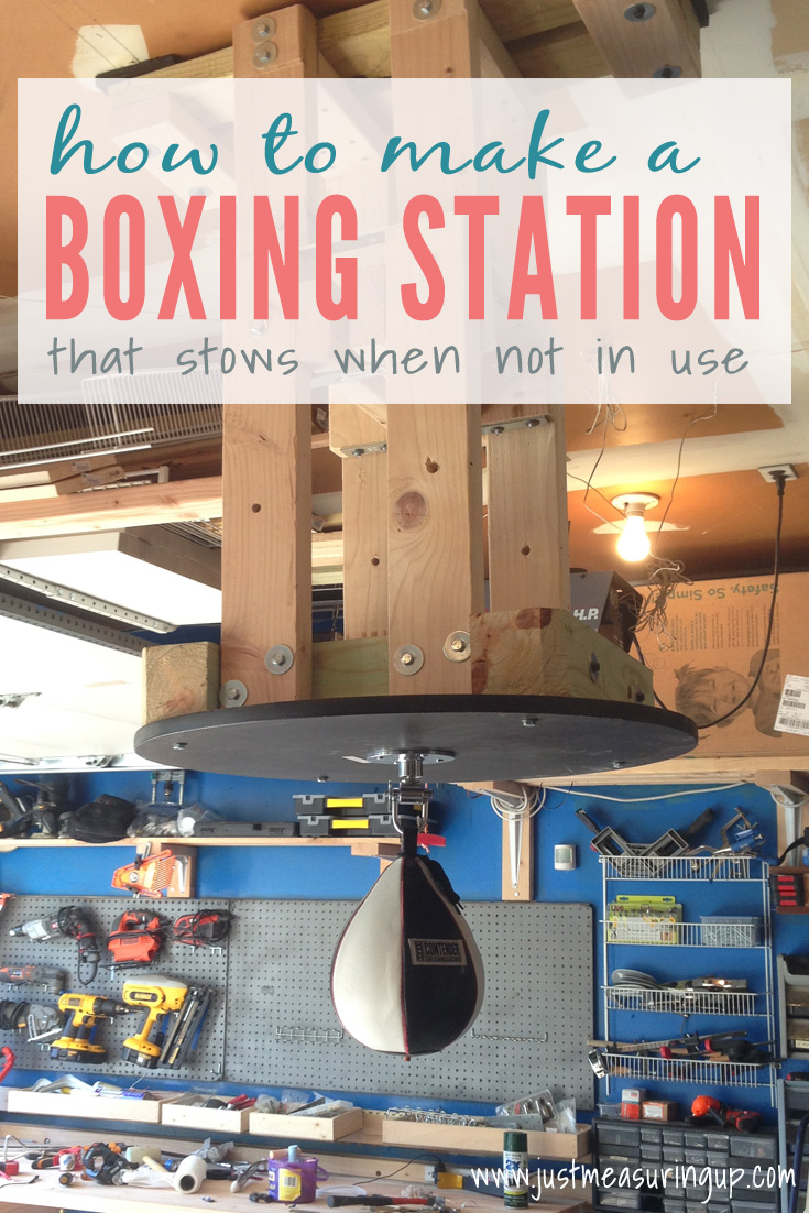 How to Make a Speed Bag Station that Stows