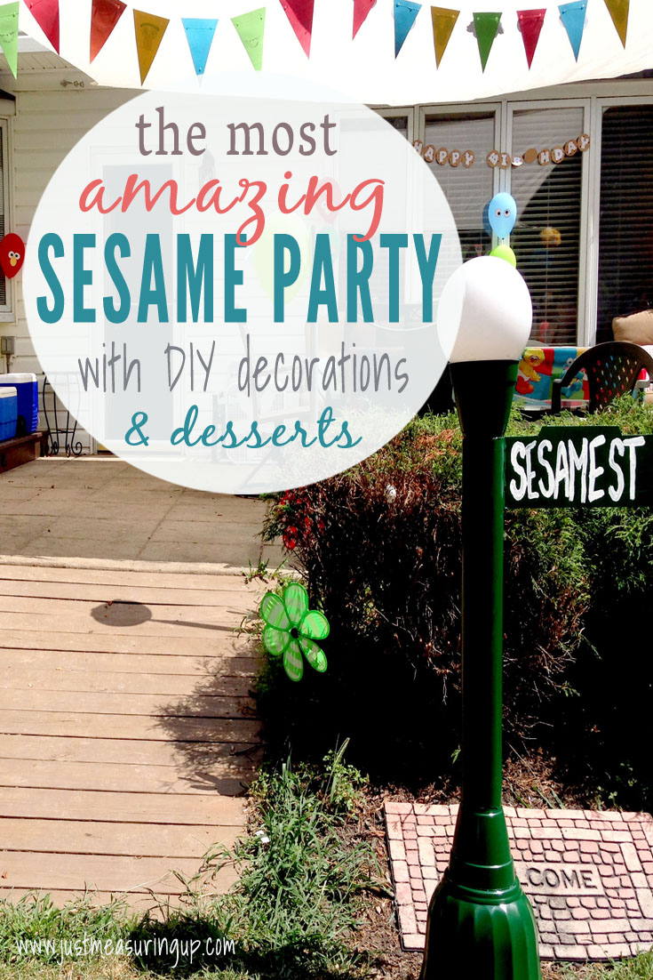 How to Throw the Best Sesame Street Party