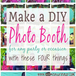 Easy DIY Photo Booth for parties!