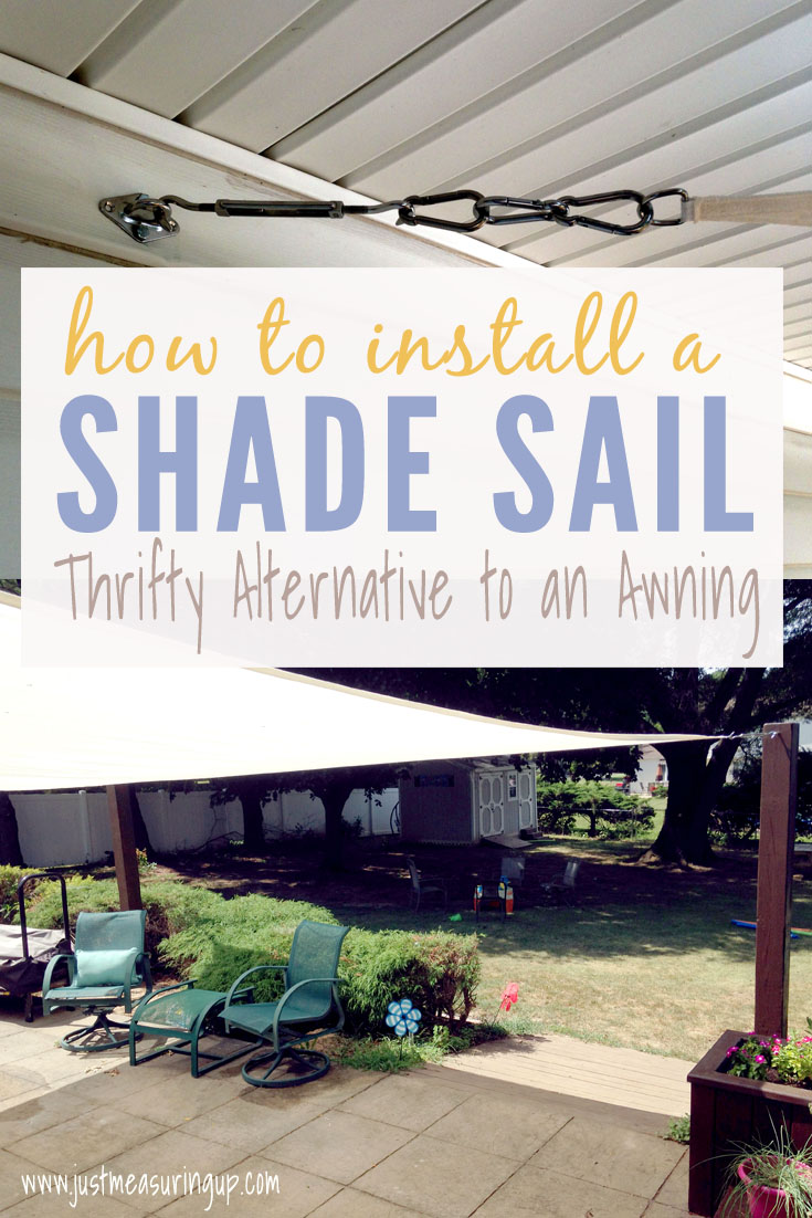 Get Some Summer Shade With A Sail Easy Instructions