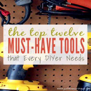 Top 12 Must-Have Tools for Every DIYer