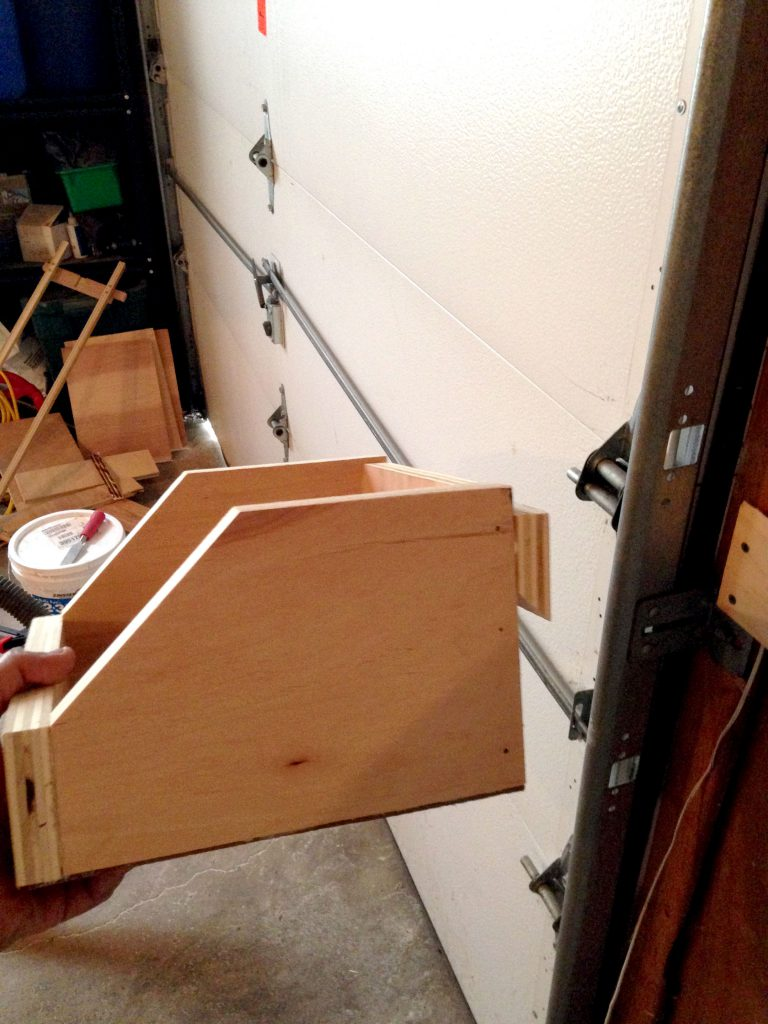 Creative Garage DIYs to Increase Your Storage - French Cleat Boxes