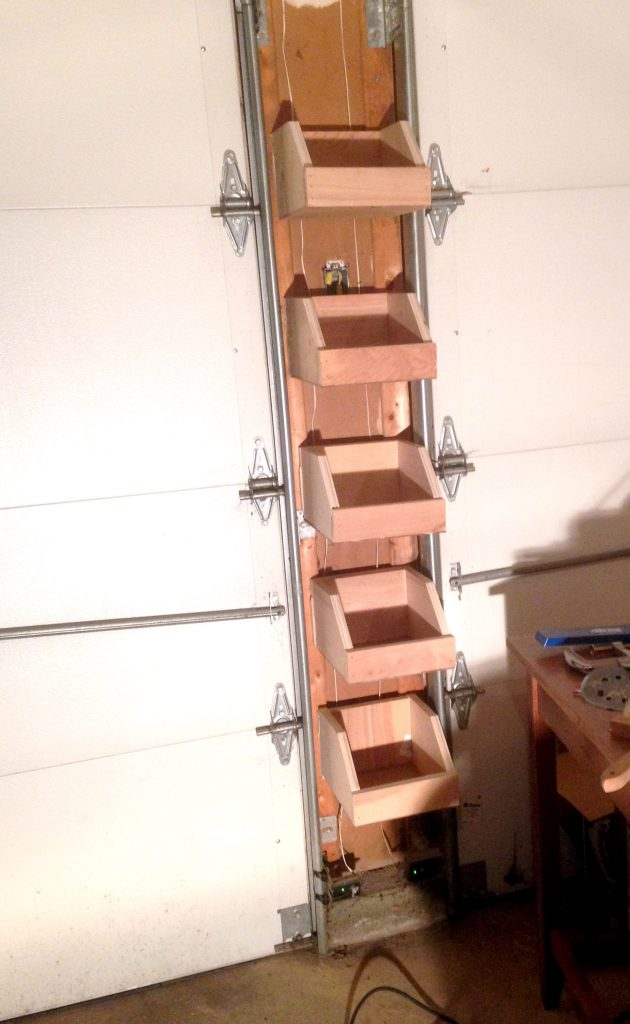Buildinging French Cleat Boxes to Get More Garage Storage