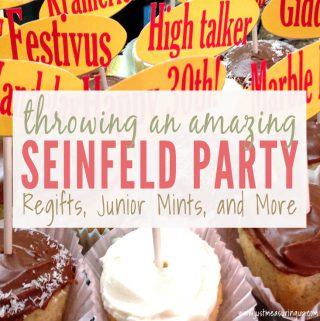 How to Throw a Seinfeld Theme Party (Even in a Restaurant)