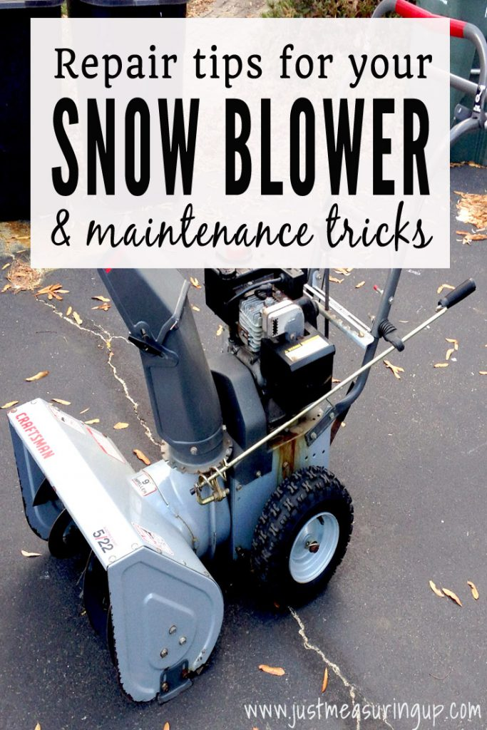 Snow Blower DIY - How to Repair and Maintain Your Snow Blower