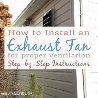 Installing an Exhaust Fan - Easy Instructions