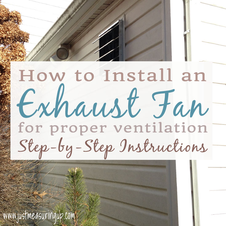 How To Install An Exhaust Fan Easy Diy Garage Ventilation System