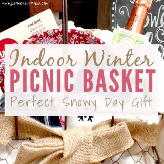 How to Make an Indoor Picnic Basket for Winter