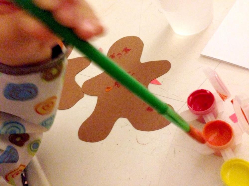 Painting Homemade Cards that Kids Can Make