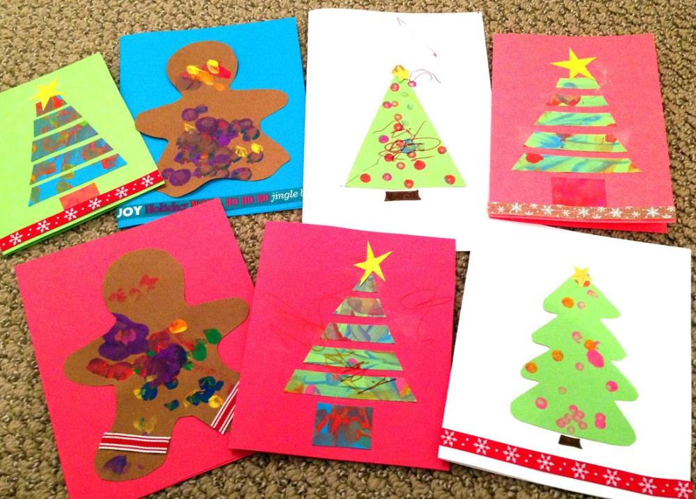 Holiday Cards that Kids of All Ages Can Make and Decorate