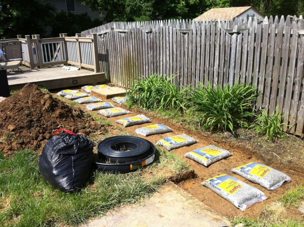 How to Build a Stone Path for your Yard