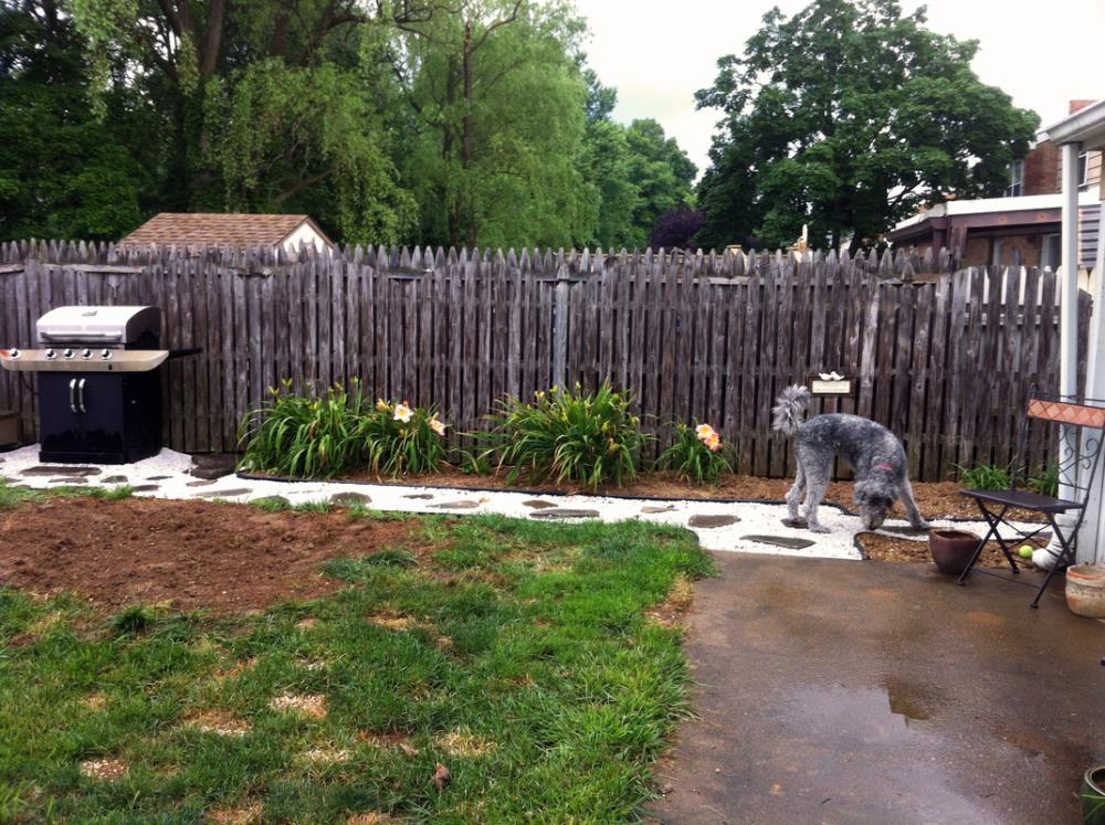 Making a Stone Walkway in Less Than Two Weekends
