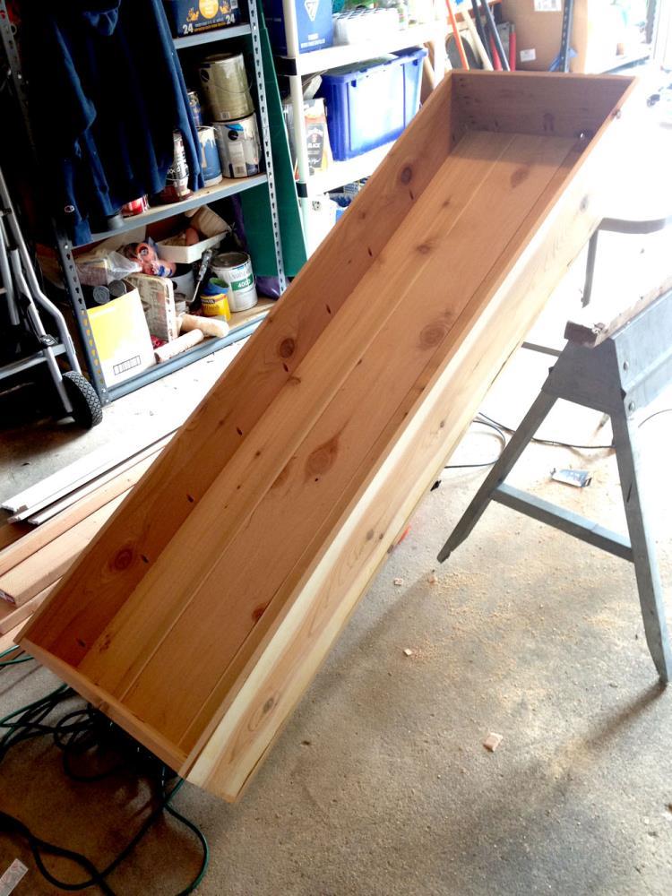 Cedar Box for the DIY Garden Planter